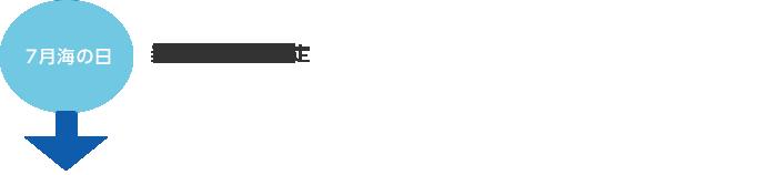 7月海の日 当協会会長が認定